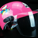 cute half face Helmets for kids