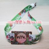 Long Range RFID Custom Festival Wristbands for Access Control