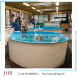 China manufacturer plastic aquaculture round fish farming tank