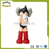 3d Astro boy plastic action toys,custom astro boy vinyl figure ,custom anime cartoon character vinyl figure