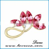 2015 top quality fashion rhinestone crown brooch	,Elegant fancy brooch design,Rhinestone brooch design