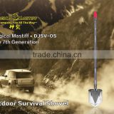 NEW 7 generation Magical Masitff shovel , Aircraft aluminium folding shovel ,Safety & Survival tool for outdoor
