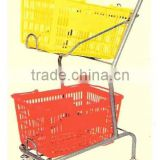 Shopping hand trolley / Basket Holder / Vegetable Rack / on sales Rack /Cupboard for Bulk Cargo /Hand Cart