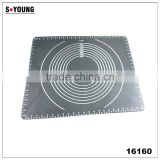 16160 Large Massive Pastry Fondant Silicone Work Rolling Baking Mat with Measurements