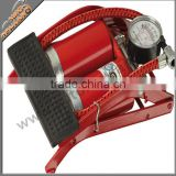 Double cylinder Foot Air Pump 2 cylinder air compressor pump