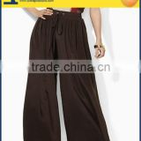 Women bloomers women losse sueded crepe pants