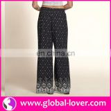 Wholesale wide leg casual pants female baggy trousers pants women
