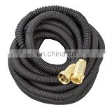 USA Amazon Double Layer Latex Core Solid Brass Fitting Expanding Garden Hose