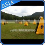 PVC Inflatable Paintball Bunker For Inflatable Bunker Gun Games