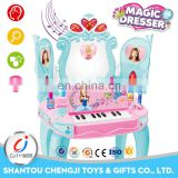 Wholesale popular children musical electric piano with light