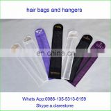 A cusom hair extension bag/Hair Extensions Carrier Storage - Suit Case Bag and Hanger in Black