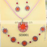 China jewelry factory wholesale dubai gold jewelry set / wedding jewellery designs