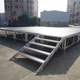 stage equipment portable aluminum stage with industrial platform for sale
