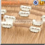 china wholesale 32 inch long curly clip in human hair extension