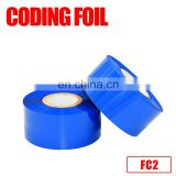 SCF900 FC3 type Hot Stamping Ribbons Package Date Coding Foil