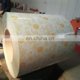 PPGI/GL   Color coated steel   coil  produced in Shandong Wanteng Steel