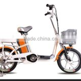 2015 hot selling factory direct city mini 48v lady bicycle electric moped with pedal