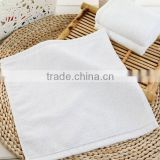 White hand towel special for hotel cheapest white terry fabric from China textile factory canbe customize and add your logo
