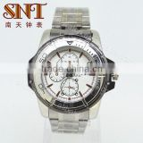 High quality watch stainless steel watch with various colors available