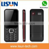 "OEM factory low price 2.4"" gsm dual sim China mobile phone with whatsapp hot sell in dubai"