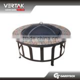 EN1860 appravel stone outdoor garden fire pit burner