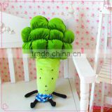 New design creative pillow broccoli shape pillow soft plush pillow