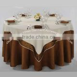 embroidery tabelcloth , print tablecloth, jacquard tablecloth
