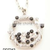 Cheap bead necklace,Fashion diamond necklace,Chain necklace