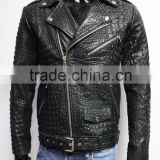 Italian men genuine leather jackets - we custom make your styles in your brand name