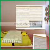 non woven cloth honeycomb shades,window blinds for baby room as day night roller blind printed color