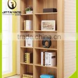 New design Eco-friendly wooden book shelf/bookcase in living room