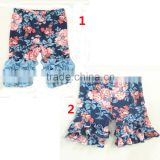 sew sassy flower baby shorts infant icing shorts floral toddler ruffle shorts                                                                         Quality Choice