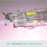 QE-S Series 300w 400w and 600w CO2 ( carbon dioxide ) Laser glass tube                                                                         Quality Choice