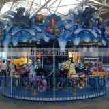 Amusement Park Rides Thrilling Merry Go Around for Sale