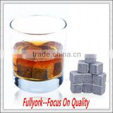 As Seen On TV Stainless Steel Ice Cube Whisky Stones Chilling Rock Stones