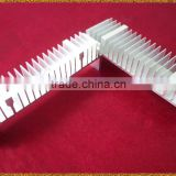 custom black anodised extruded aluminum profile heatsink