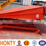 hydraulic dock leveler/container loading dock ramp/electric adjustable steel dock leveler for sale