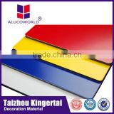 aluminium cladding sheet /copper color exterior pvdf coated wall cladding Aluminium composite panel(ACP)