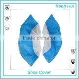non woven blue disposable pp pe shoe cover anti skid shoe covers