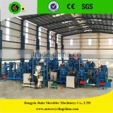 Full-Automatic waste tire recycling line to rubber powder/Tyre rubber crumb production line