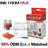 for canon IP3600 IP4760 Printer CLI-221 PGI-220 CLI-511 CLI-811 Cartridge ink refill kit