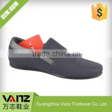 Sports Style Fashion Ventilate Textile PU Slip On Loafers Men Casual Shoes                                                                         Quality Choice