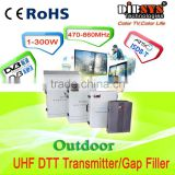 200W outdoor uhf dvb-t and isdb-t transmitter