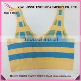 OEM Service China Wholesale Children Clothes Fashionable Fitness With Stripes Kids Sports TankTops
