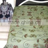 Ethnic Designer Embroidered King Size Bed Spread/Tapestry With Thread Work ,wholesale bedspreads, handmade