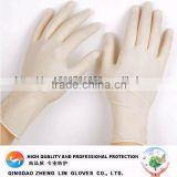 For medical standard and dental supply CE approved powdered and powder free disposable medical latex gloves