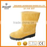 Dubai top selling safety boots with PU sole , safety shoes with steel toe cap