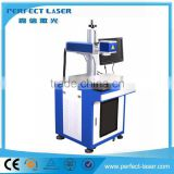 30W 3D Curve Surface Dynamic Focusing Fiber Laser Marking Machine Portable Optical fiber laser marking mach for iphone