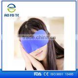 Aofeite Wholesale New Design Cute Satin Silk Disposable Womens Sleep Shorts cover Eye mask