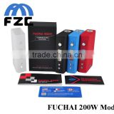 Wholesale price high quality 100% Original Sigelei Fuchai 200w TC Mod
